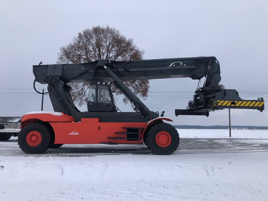 Linde C4531TL Full-container reach stacker www.superlift-forklift.com