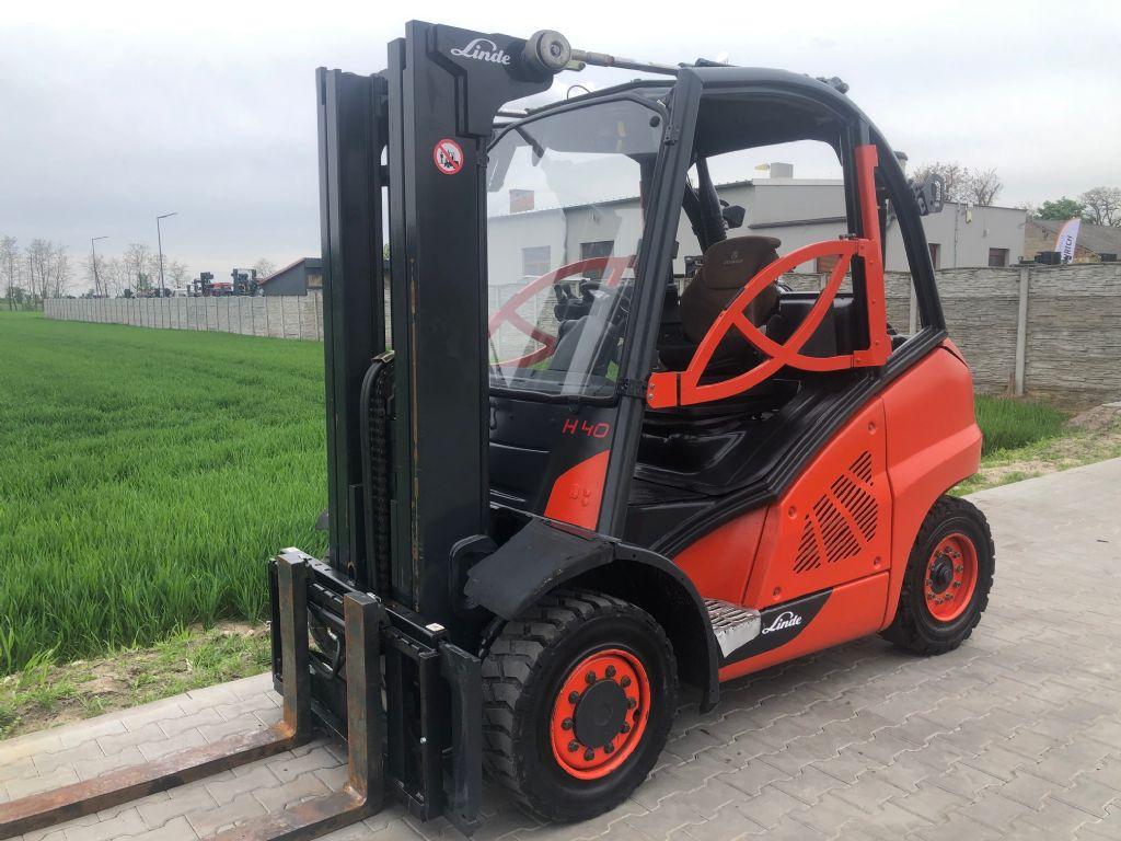 Linde H40D-01 Diesel Forklift www.superlift-forklift.com
