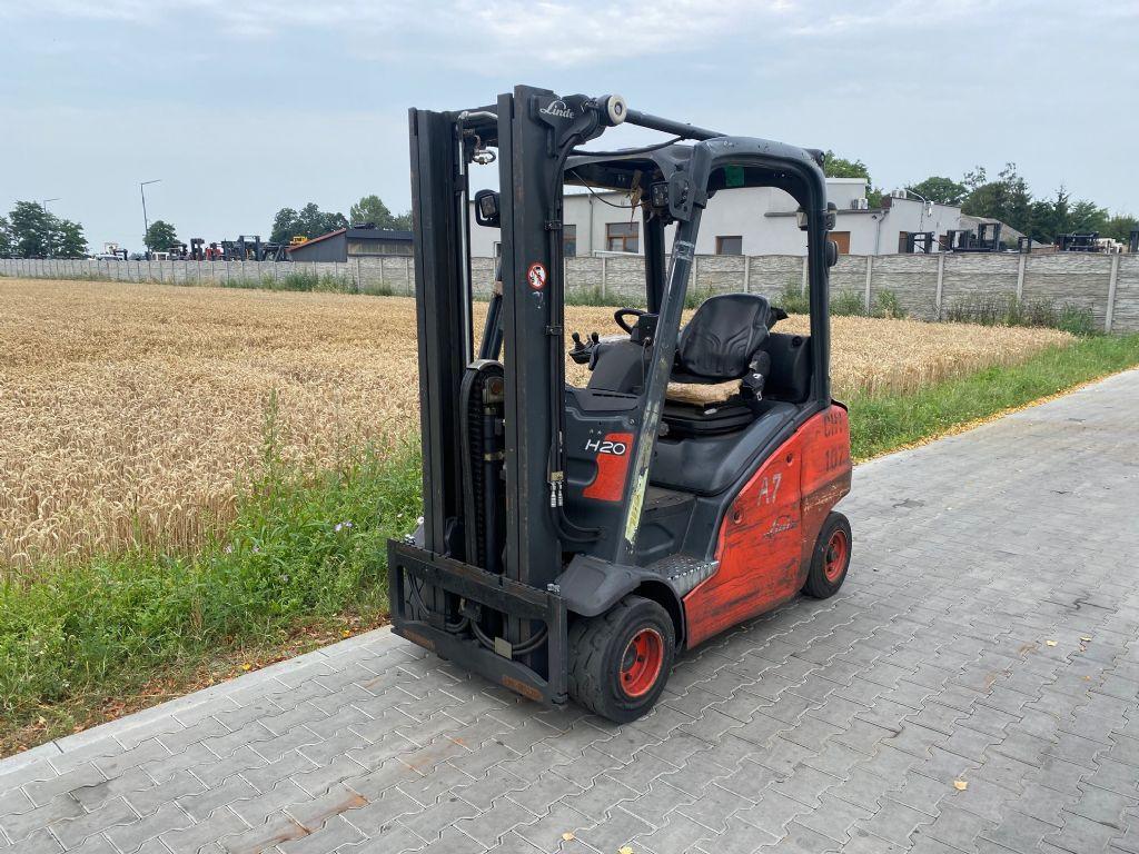 Linde H20T-01 LPG Forklifts www.superlift-forklift.com