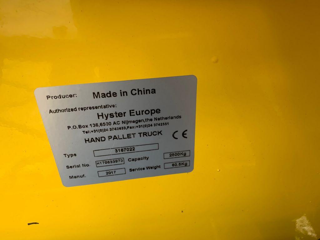 Hyster 3167022 Handhubwagen www.thuenemann-stapler.de