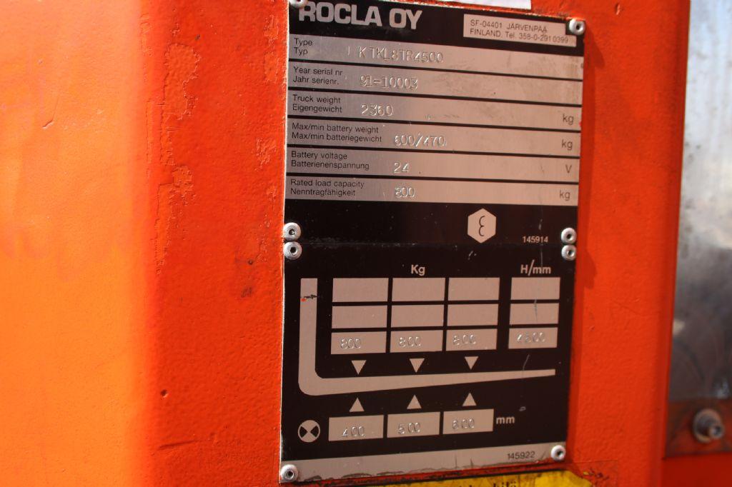 Rocla KTKL8TR4500 Niederhubkommissionierer www.thuenemann-stapler.de
