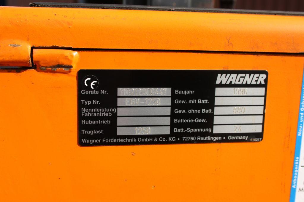 Wagner EGV1250 Hochhubwagen www.thuenemann-stapler.de