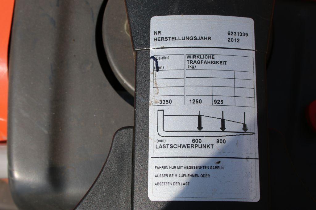 BT SPE 125 Hochhubkommissionierer www.thuenemann-stapler.de
