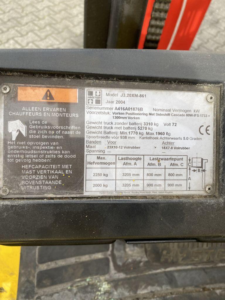 Hyster J3.2XM-861 Elektro 4 Rad-Stapler www.thuenemann-stapler.de