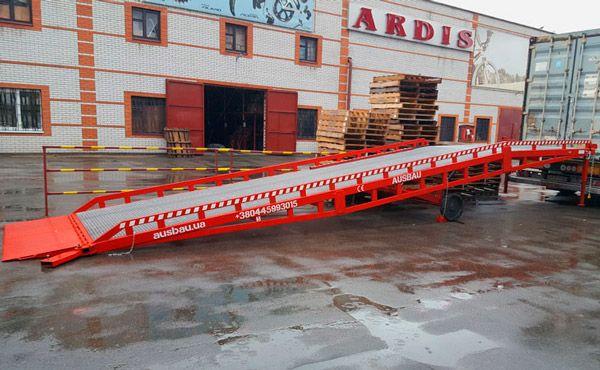 *Sonstige Ausbau Pro 10 Verladerampe www.thuenemann-stapler.de