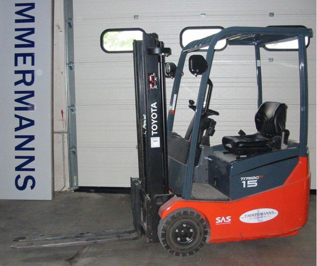 Toyota 7FBEST15 Elektro 3 Rad-Stapler www.timmermanns.com