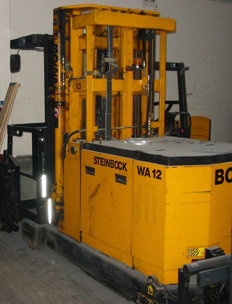 Steinbock Boss WA 12 Hochhubkommissionierer www.timmermanns.com