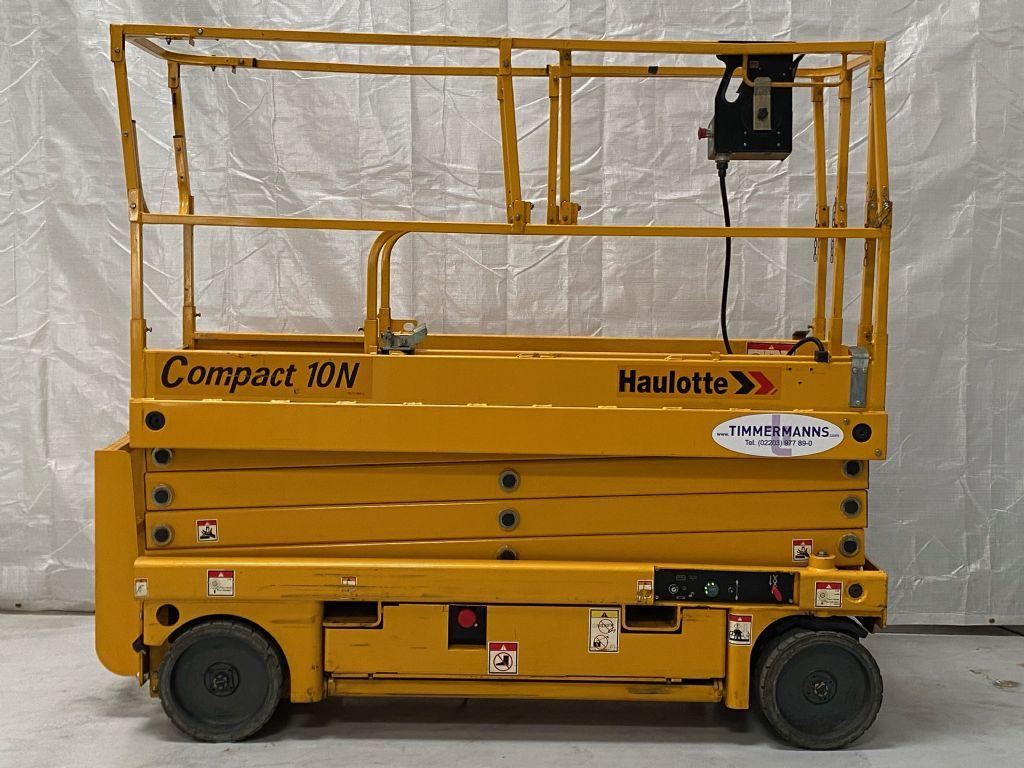 Haulotte COMPACT 10N Scherenarbeitsbühne www.timmermanns.com