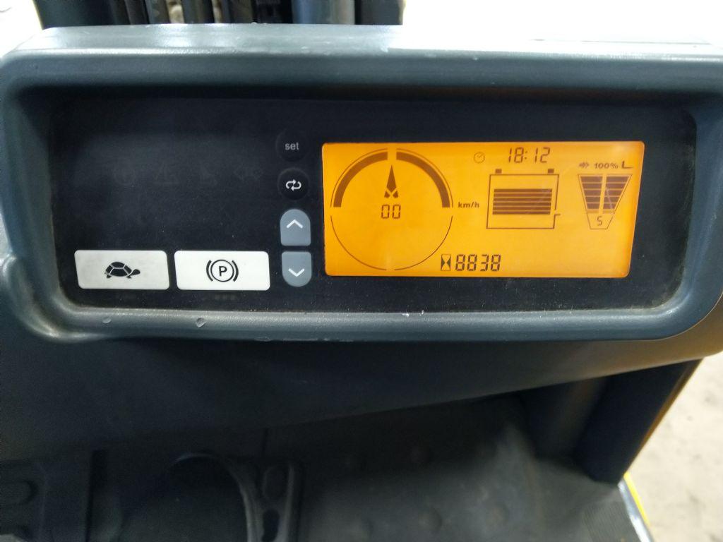 Jungheinrich-EFG 216k  GE 115-550DZ-Elektro 3 Rad-Stapler-www.tojo-gabelstapler.de