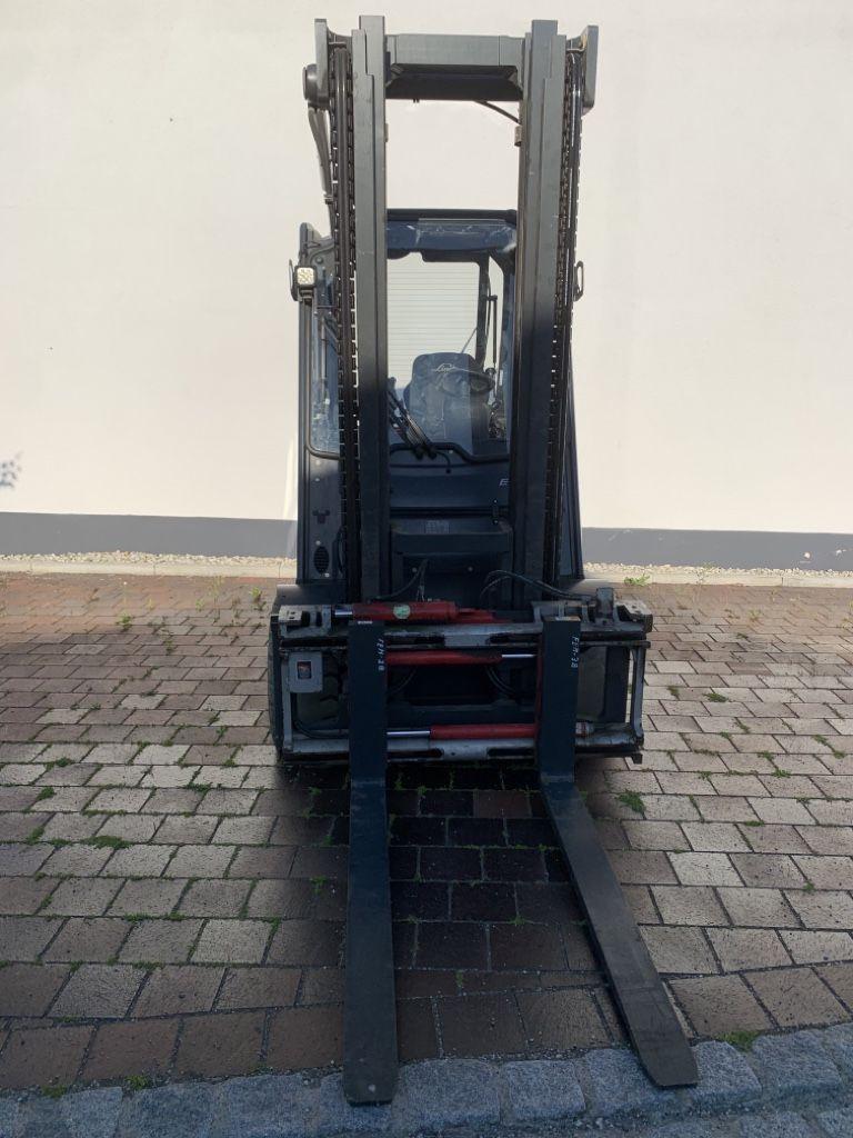 Linde E40H Elektro 4 Rad-Stapler www.watzinger-gabelstapler.de