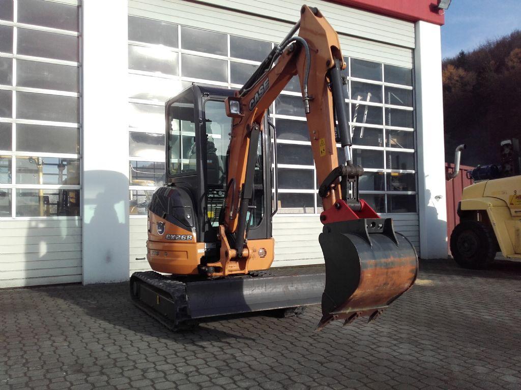 Case-CX 26 B ZTS, Kurzheck-Minibagger-www.wiegers-gabelstapler.de