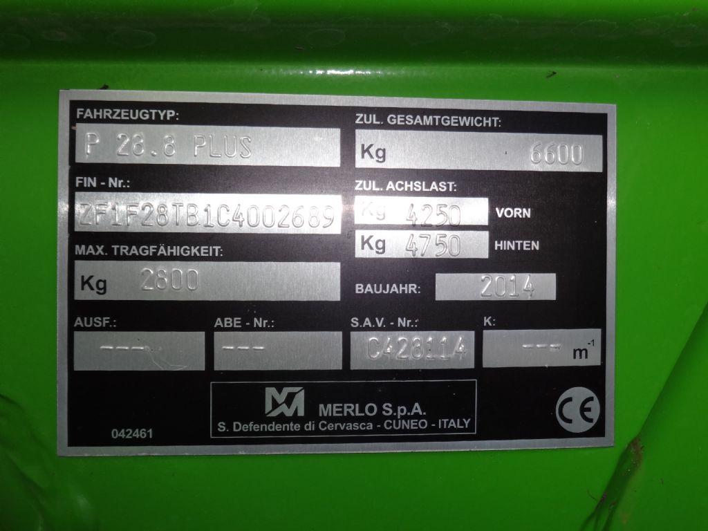 Merlo-P28.8Plus-Teleskopstapler starr-www.wiegers-gabelstapler.de
