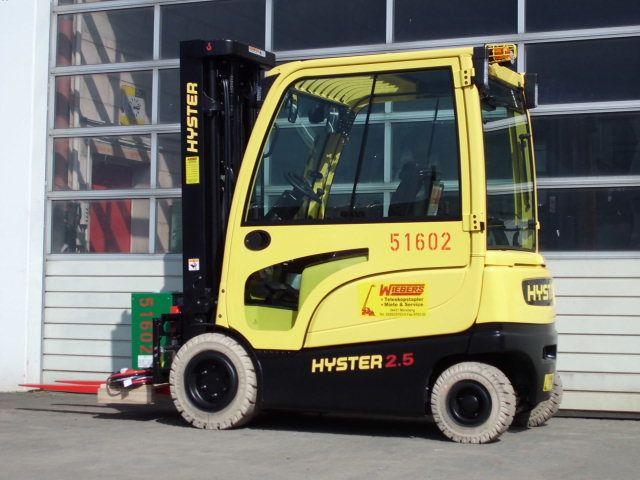 Hyster-J2.5XN-Elektro 4 Rad-Stapler-www.wiegers-gabelstapler.de