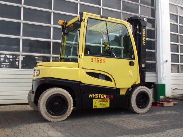 Hyster-J5.5XN6-Elektro 4 Rad-Stapler-www.wiegers-gabelstapler.de