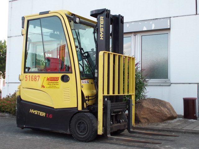 Hyster-J1.6XNT-Elektro 3 Rad-Stapler-www.wiegers-gabelstapler.de