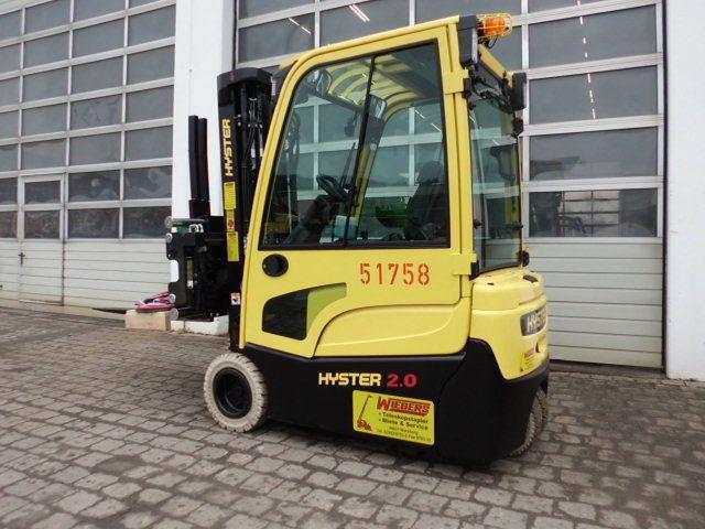Hyster-J2.0XNT MWB-Elektro 3 Rad-Stapler-www.wiegers-gabelstapler.de