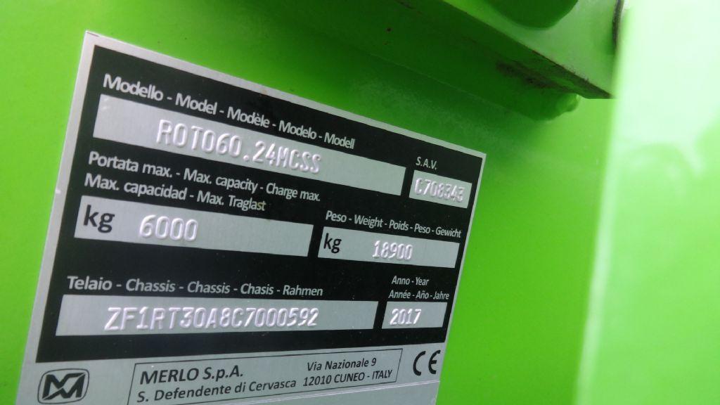 Merlo-Roto 60.24 MCSS-Teleskopstapler drehbar-www.wiegers-gabelstapler.de