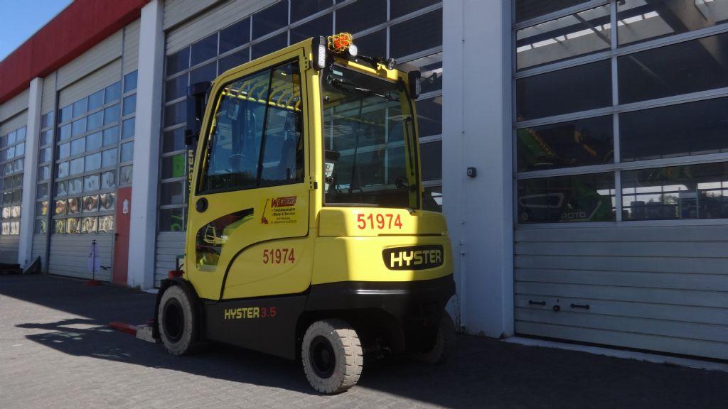 Hyster-J3.5XN-Elektro 4 Rad-Stapler-www.wiegers-gabelstapler.de
