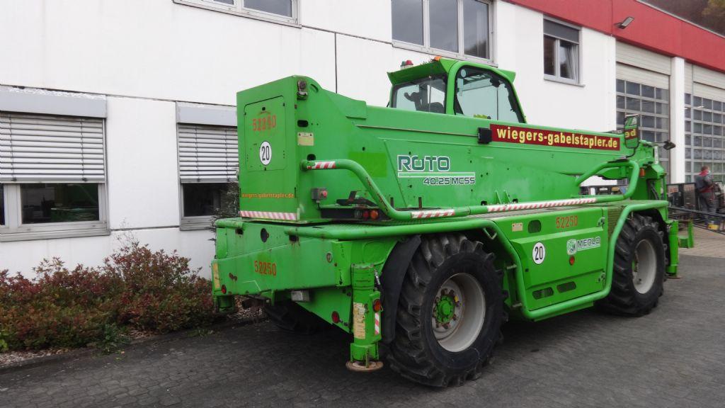Merlo-R40.25 MCSS-Teleskopstapler drehbar-www.wiegers-gabelstapler.de