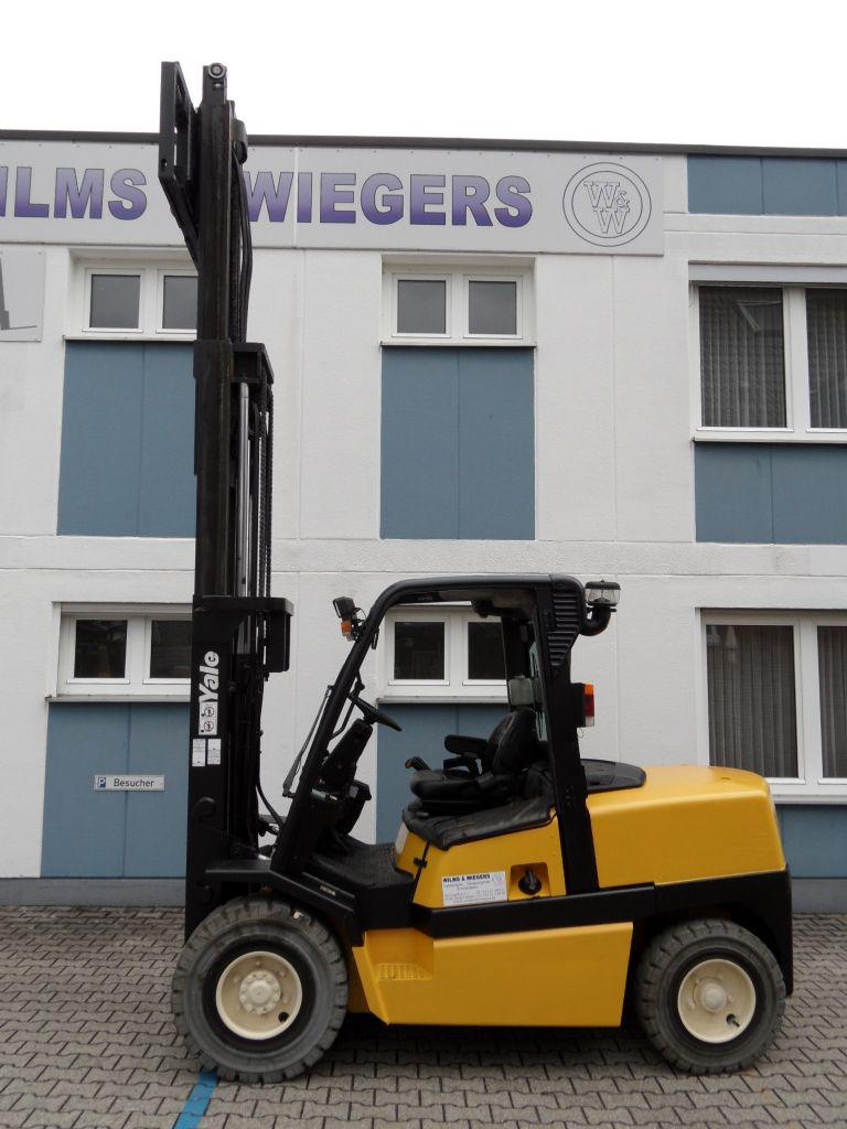 Yale-GDP 50 MJ - Triplex - weisse Reifen-Dieselstapler-www.wilms-wiegers.de