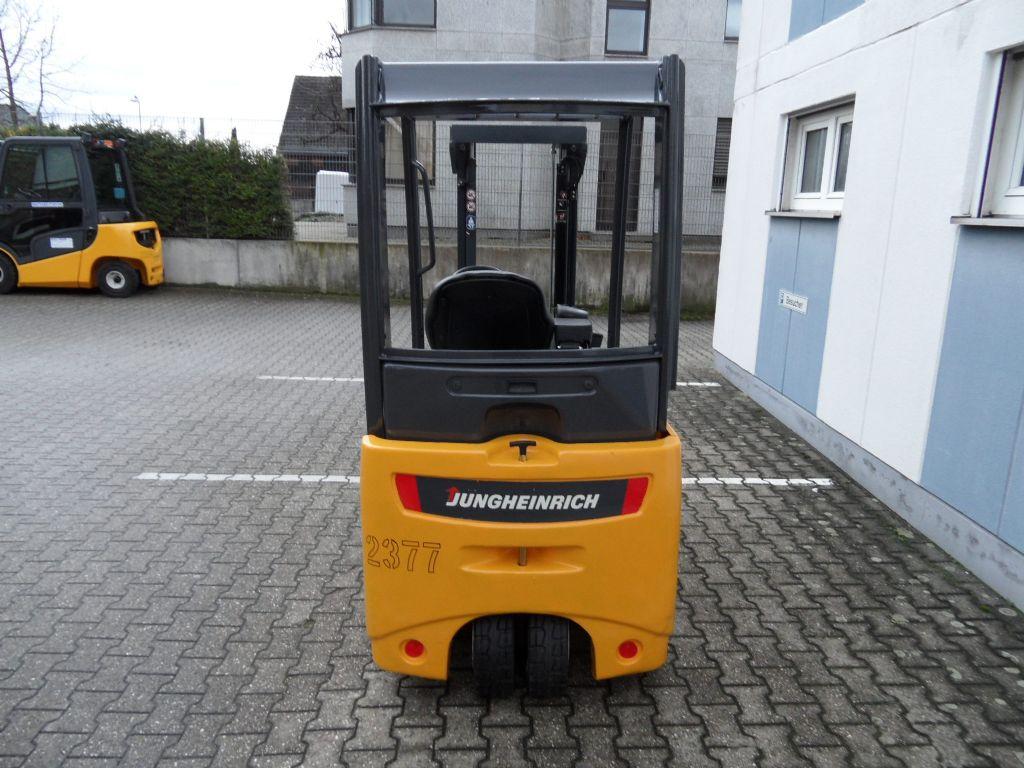 Jungheinrich-EFG 216 K - TOP-Batterie - Freihub!-Elektro 3 Rad-Stapler-www.wilms-wiegers.de