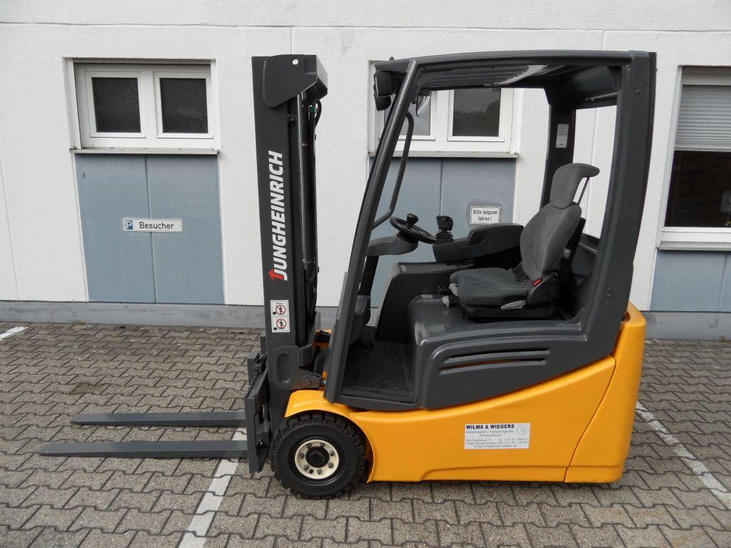Jungheinrich-EFG 216 K - TOP-Batterie!-Elektro 3 Rad-Stapler-www.wilms-wiegers.de