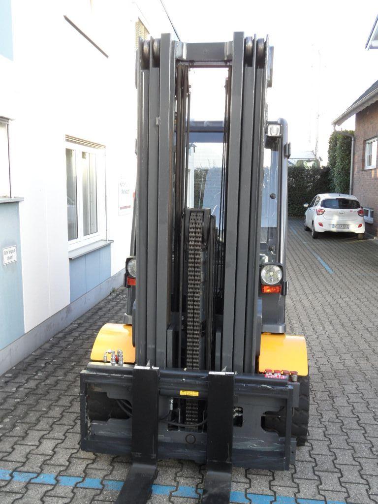 Jungheinrich-EFG 550 - 5,30 m Triplex - Batterie aus 2016-Elektro 4 Rad-Stapler-www.wilms-wiegers.de