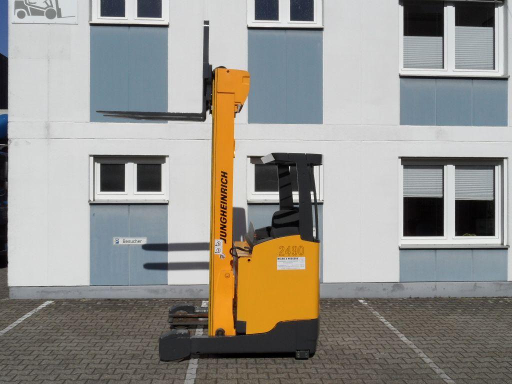 Jungheinrich-ETV 214 - 7,70 m Triplex-Schubmaststapler-www.wilms-wiegers.de
