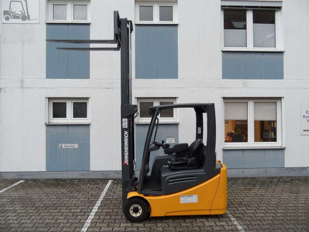 Jungheinrich-EFG 216 - Freihub-Elektro 3 Rad-Stapler-www.wilms-wiegers.de