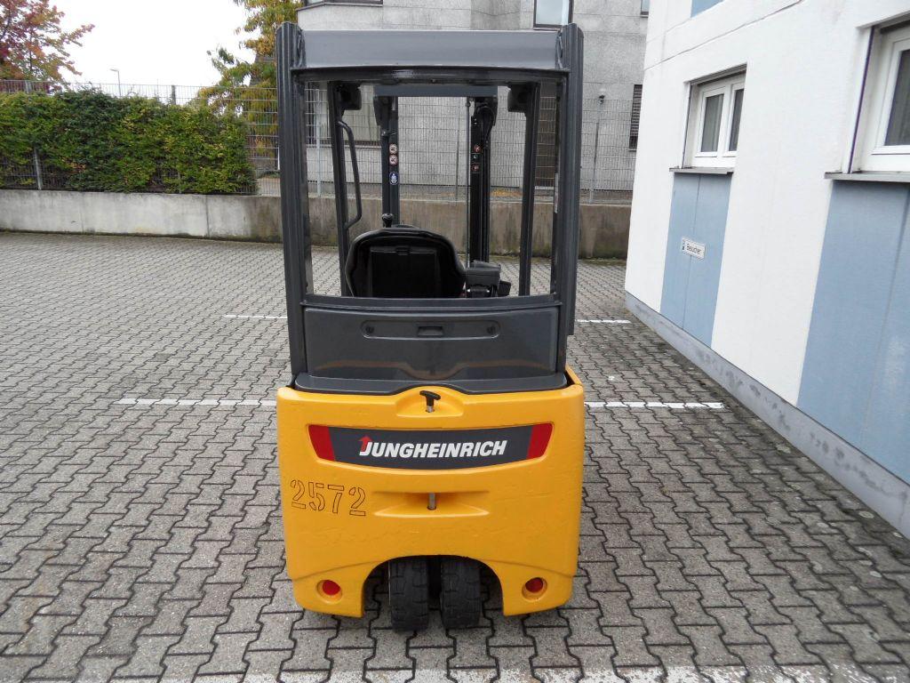 Jungheinrich-EFG 216 - Duplex Freihub-Elektro 3 Rad-Stapler-www.wilms-wiegers.de