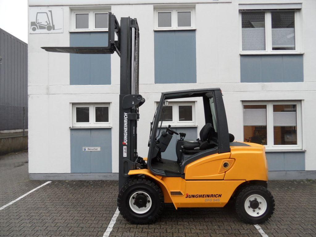 Jungheinrich-DFG 545 - TOP-Gerät!-Dieselstapler-www.wilms-wiegers.de