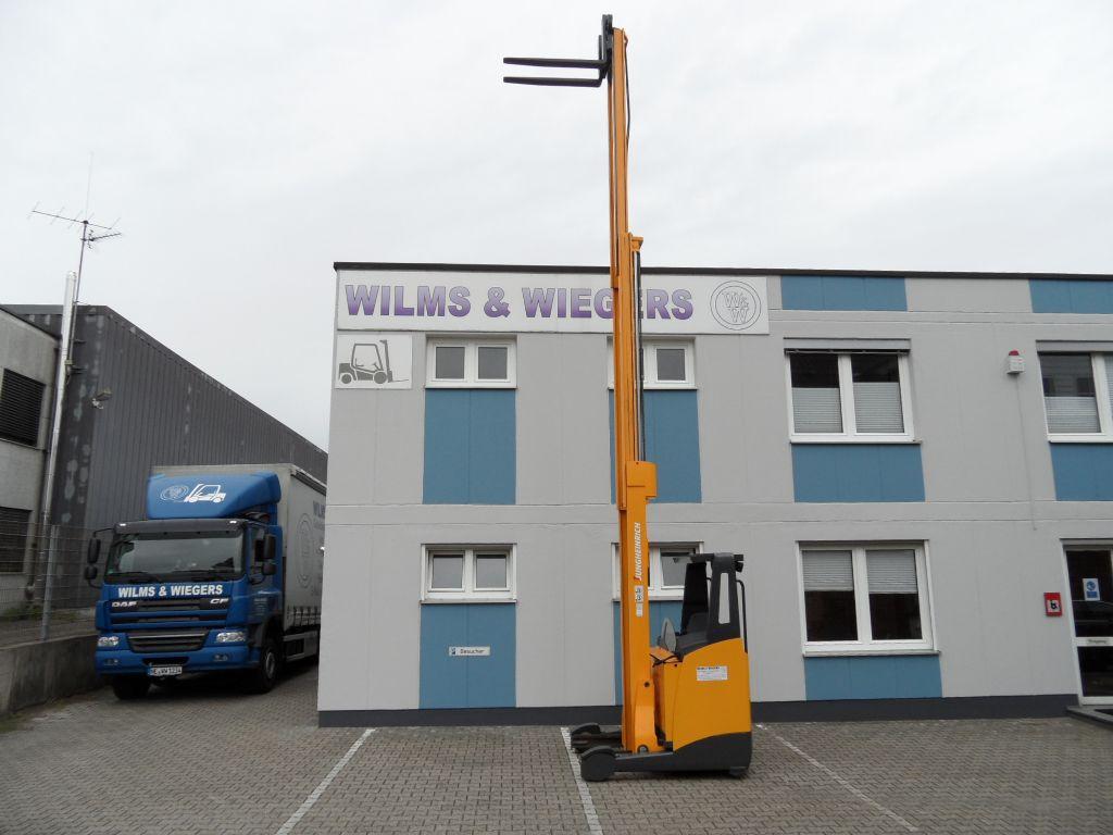 Jungheinrich-ETV 214 - Batterie NEU - 7,70 m Triplex-Schubmaststapler-www.wilms-wiegers.de