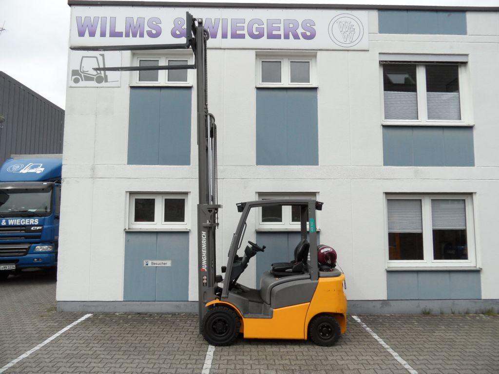 Jungheinrich-TFG 320 - Triplex - 964 Stunden!-Treibgasstapler-www.wilms-wiegers.de