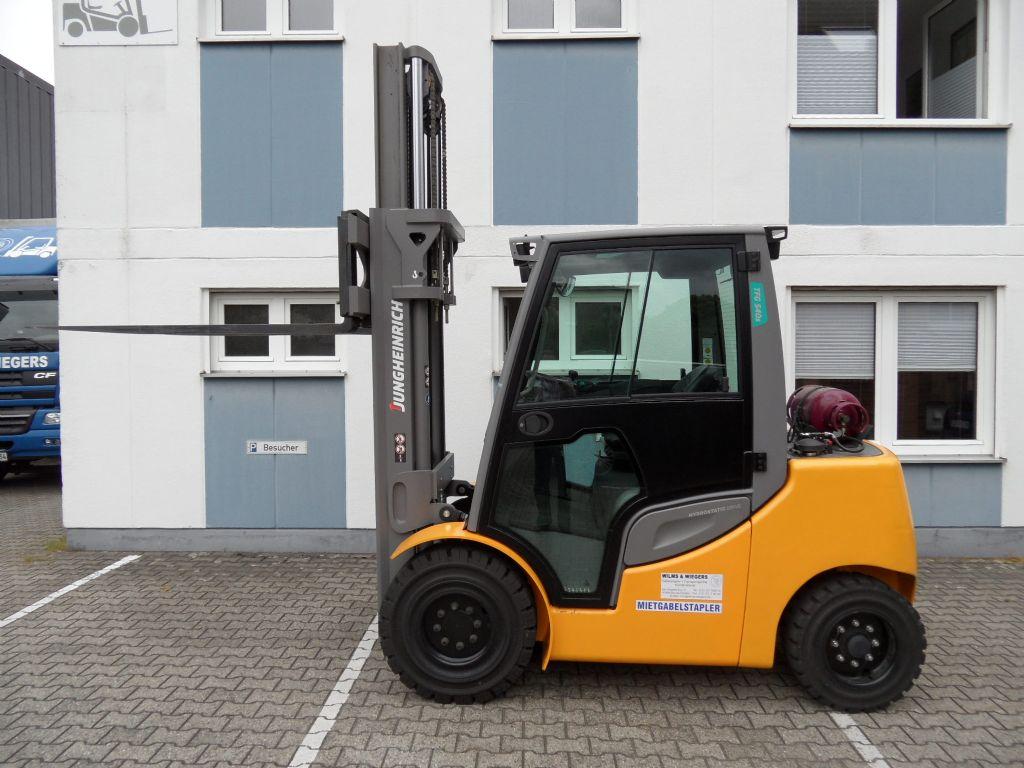 Jungheinrich-TFG 540s - wenig Stunden - 2016-Treibgasstapler-www.wilms-wiegers.de