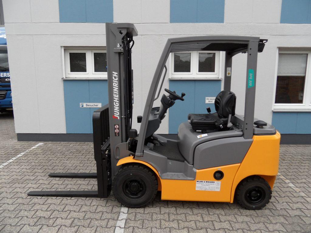 Jungheinrich-DFG 320 - 2017 - Vorführgerät!-Dieselstapler-www.wilms-wiegers.de