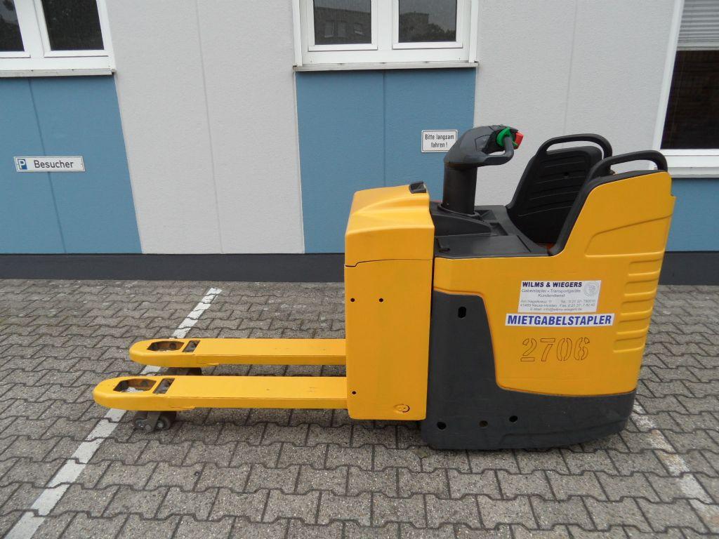 Jungheinrich-ERE 225 - feste Plattform-Niederhubwagen-www.wilms-wiegers.de