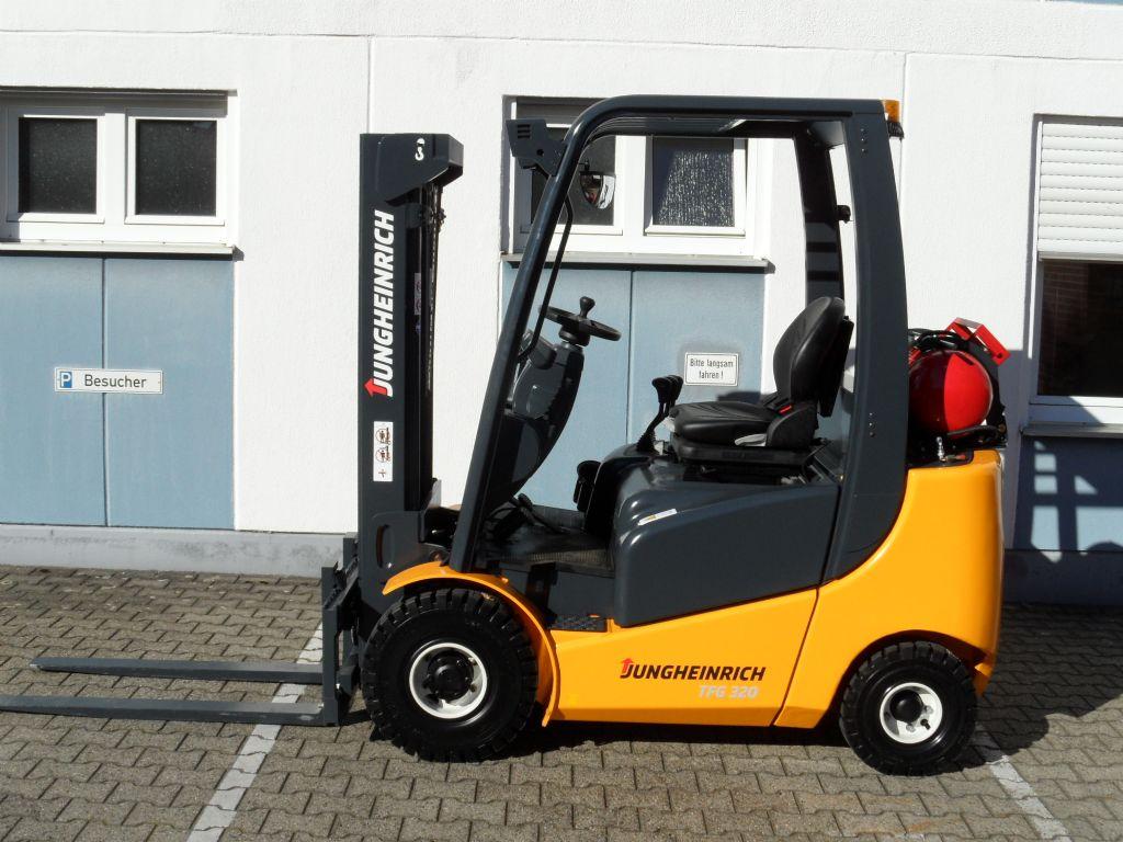 Jungheinrich-TFG 320 - Triplex - TOP!-Treibgasstapler-www.wilms-wiegers.de