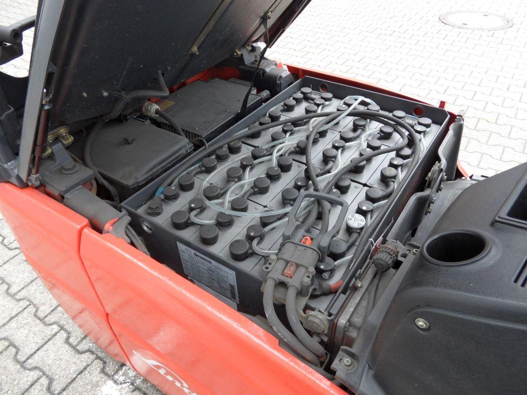 Linde-E 16 C-01 - Triplex - Batterie BJ 2014-Elektro 3 Rad-Stapler-www.wilms-wiegers.de