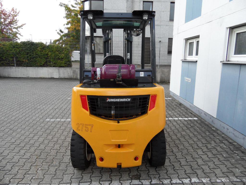 Jungheinrich-TFG 540s - Zinkenverstellgerät - wenig Stunden-Treibgasstapler-www.wilms-wiegers.de
