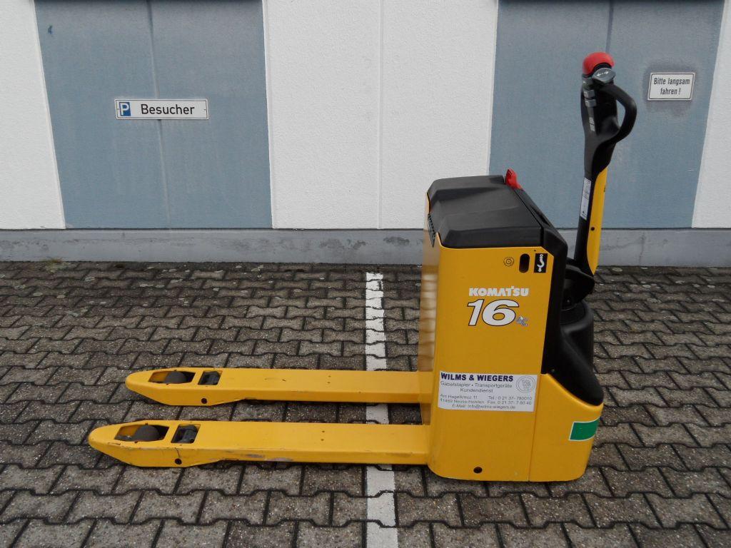 Komatsu-MWP 16-2R - neuwertig!-Niederhubwagen-www.wilms-wiegers.de