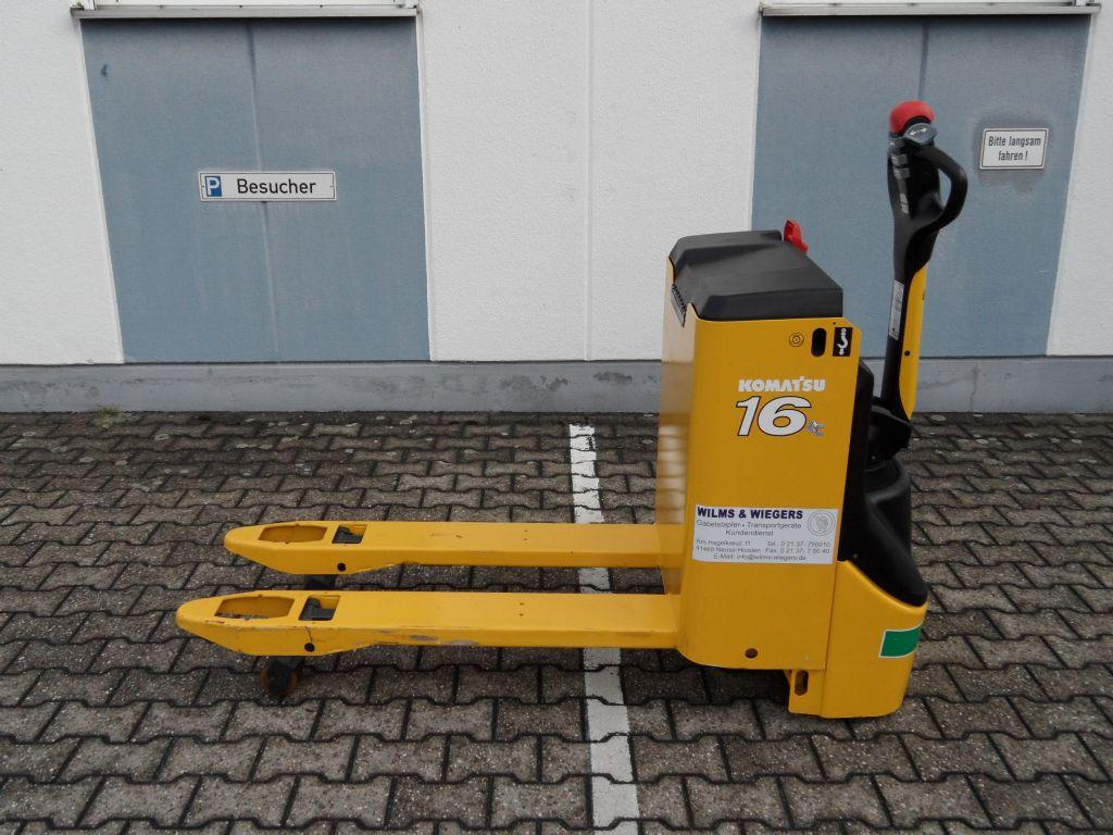 Komatsu-MWP 16-2R - 64 Std. - NEUE Batterie-Niederhubwagen-www.wilms-wiegers.de