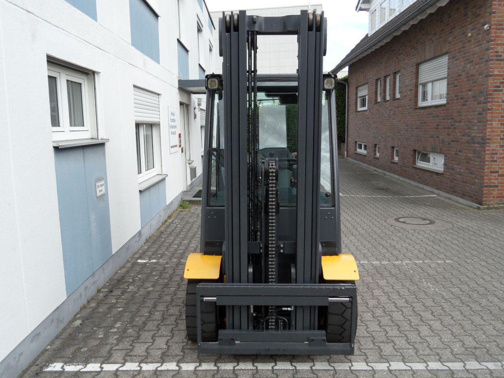 Jungheinrich-TFG 430s - 5,50 m Triplex !-Treibgasstapler-www.wilms-wiegers.de