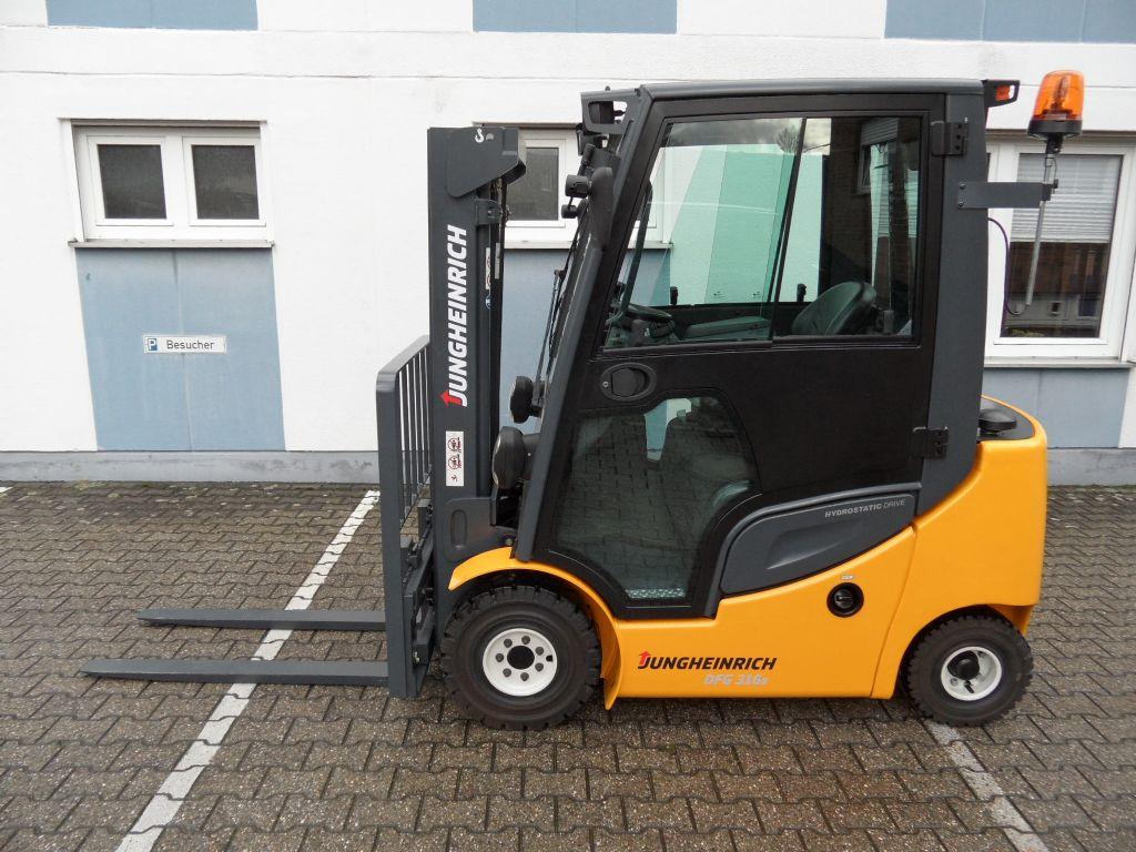 Jungheinrich-DFG 316s - 406 Stunden! - Triplex-Dieselstapler-www.wilms-wiegers.de
