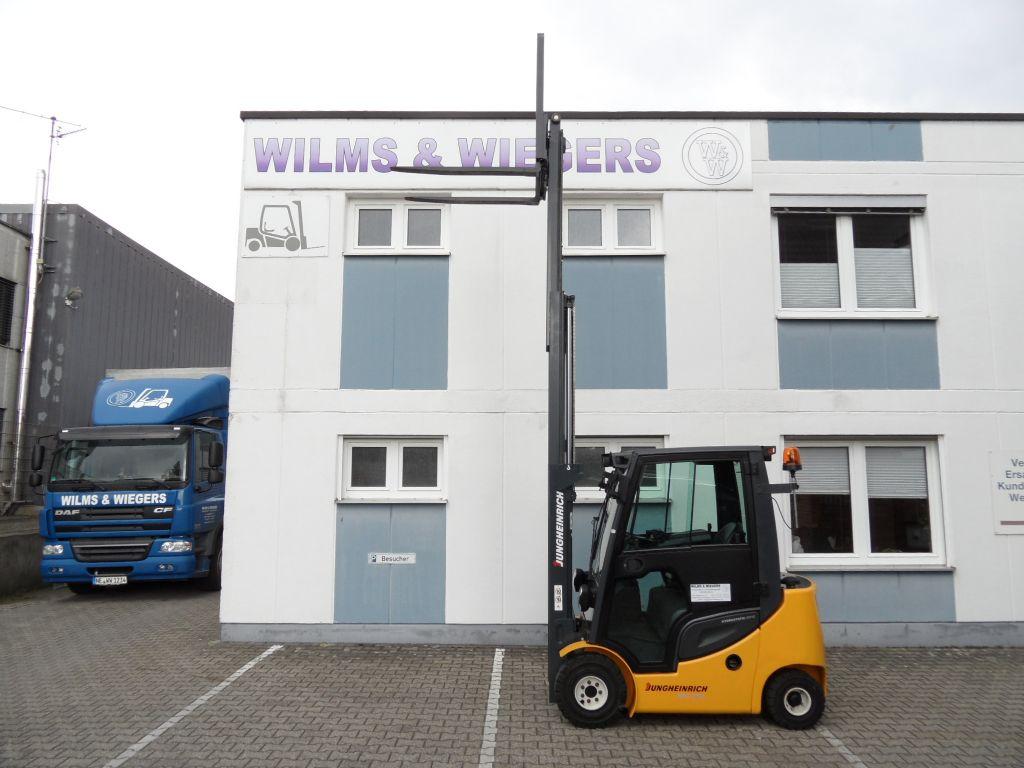 Jungheinrich-DFG 316s - 732 Stunden! - Triplex-Dieselstapler-www.wilms-wiegers.de