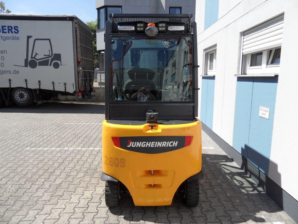 Jungheinrich-EFG 425k - Triplex - Front-Dach-Heckscheibe-Elektro 4 Rad-Stapler-www.wilms-wiegers.de