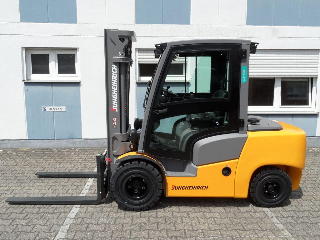 Jungheinrich-DFG 435 - NEU - sofort lieferbar!-Dieselstapler-www.wilms-wiegers.de