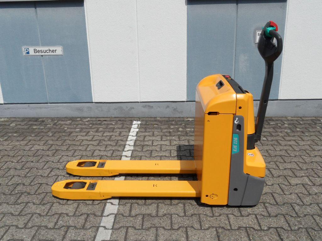 Jungheinrich-EJE 116 - Vorführgerät - 67 Stunden - 2019-Niederhubwagen-www.wilms-wiegers.de
