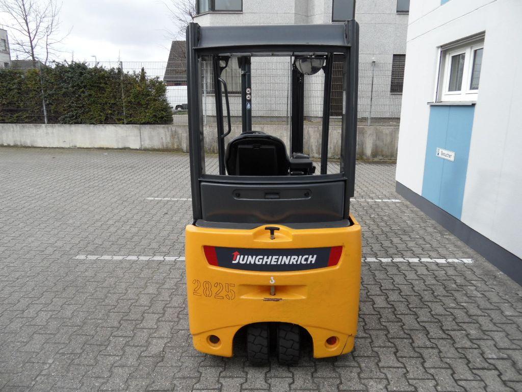 Jungheinrich-EFG 216 - Freihub - neue Reifen-Elektro 3 Rad-Stapler-www.wilms-wiegers.de