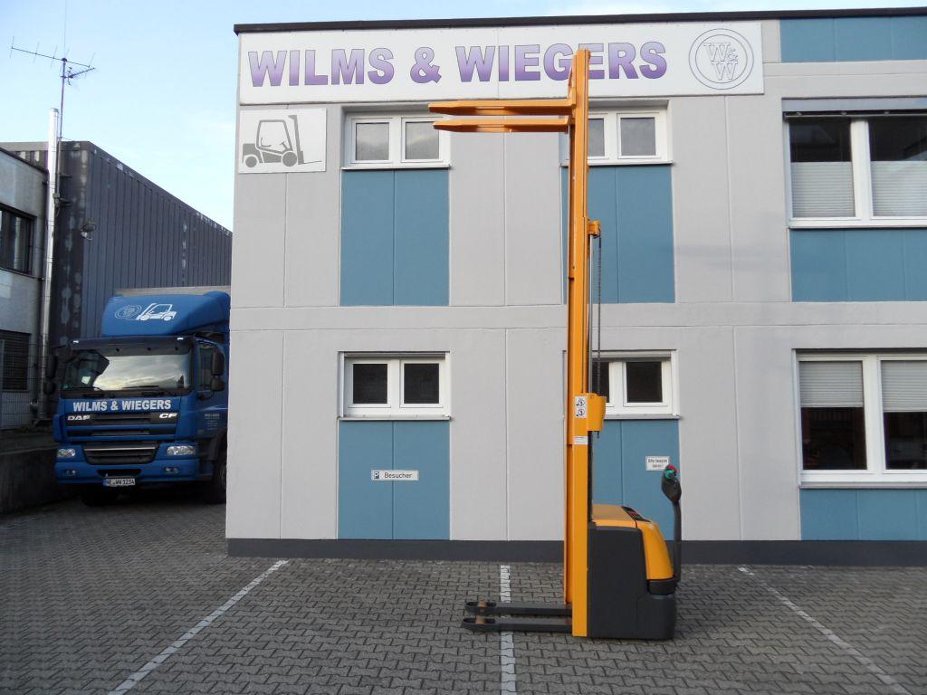 Jungheinrich-EJC 212 - Triplex - unter 1,90 m Bauhöhe-Deichselstapler-www.wilms-wiegers.de