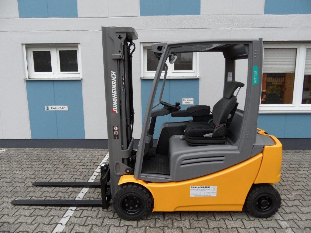 Jungheinrich-EFG 320 - Freihub - Batterie BJ 2018-Elektro 4 Rad-Stapler-www.wilms-wiegers.de